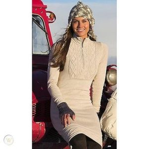 Athleta Sawtooth Sweater Dress